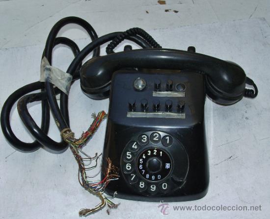 ANTIGUO TELEFONO CENTRALITA DE BAQUELITA (Antigüedades - Técnicas - Teléfonos Antiguos)