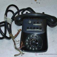 Teléfonos: ANTIGUO TELEFONO CENTRALITA DE BAQUELITA. Lote 38196344