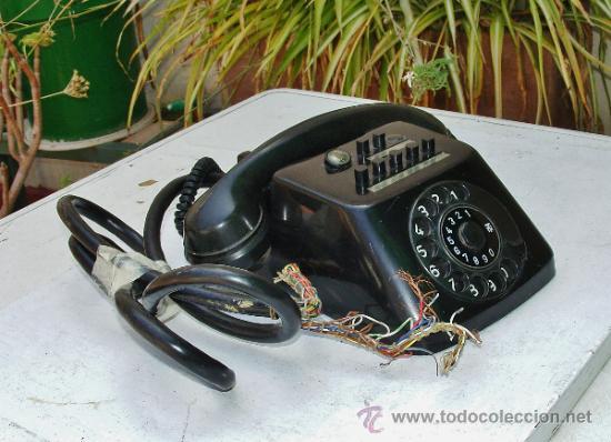 Teléfonos: ANTIGUO TELEFONO CENTRALITA DE BAQUELITA - Foto 15 - 38196344