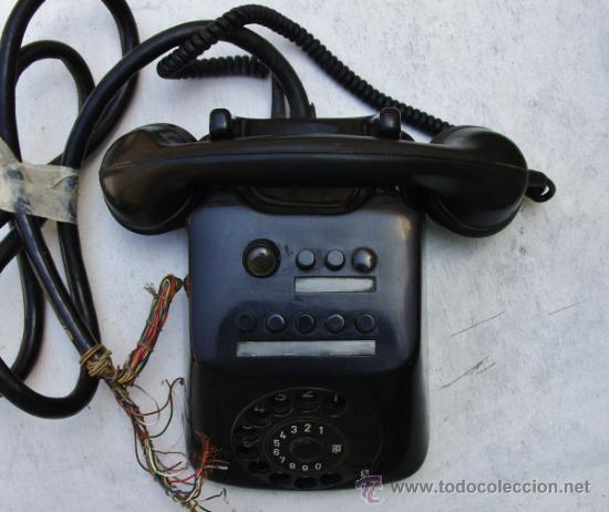 Teléfonos: ANTIGUO TELEFONO CENTRALITA DE BAQUELITA - Foto 10 - 38196344