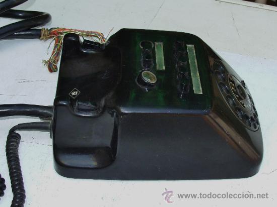 Teléfonos: ANTIGUO TELEFONO CENTRALITA DE BAQUELITA - Foto 3 - 38196344