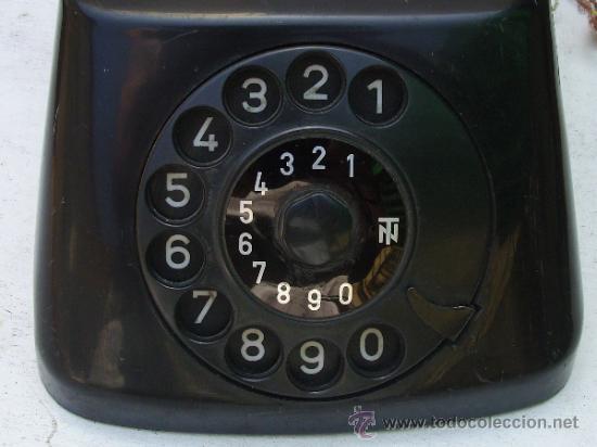 Teléfonos: ANTIGUO TELEFONO CENTRALITA DE BAQUELITA - Foto 7 - 38196344