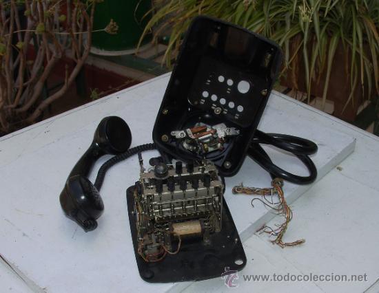 Teléfonos: ANTIGUO TELEFONO CENTRALITA DE BAQUELITA - Foto 13 - 38196344