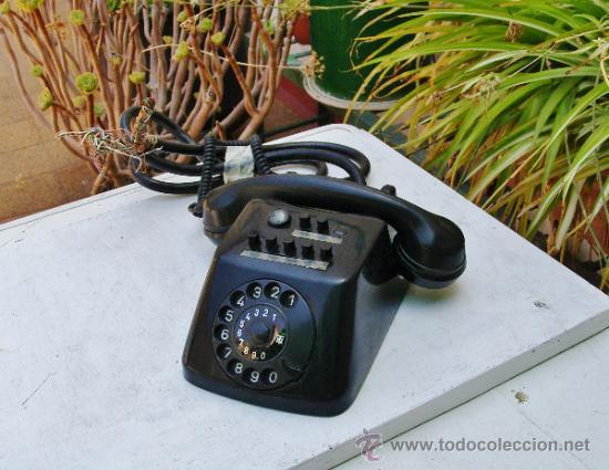 Teléfonos: ANTIGUO TELEFONO CENTRALITA DE BAQUELITA - Foto 19 - 38196344