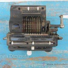 Antigüedades: ANTIGUA Y PRECIOSA CALCULADORA DE LA MARCA IRIS - AÑO 1945 APROX. - MODELO XIII-L - PARECE QUE COMPL. Lote 38212124