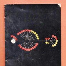 Antigüedades: MINI FOLLETO / INSTRUCCIONES - MAQUINA DE ESCRIBIR - PLUMA 22 - HISPANO OLIVETTI - AÑOS 60. Lote 38228551
