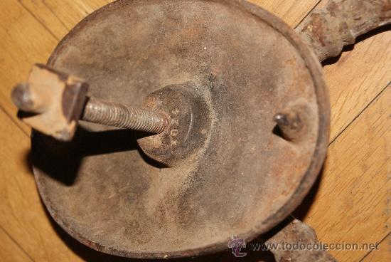 Antigüedades: PRECIOSO LLAMADOR Y TIRADOR DE PUERTA SIGLO XVIII O PRINCIPIOS XIX - Foto 8 - 38290185
