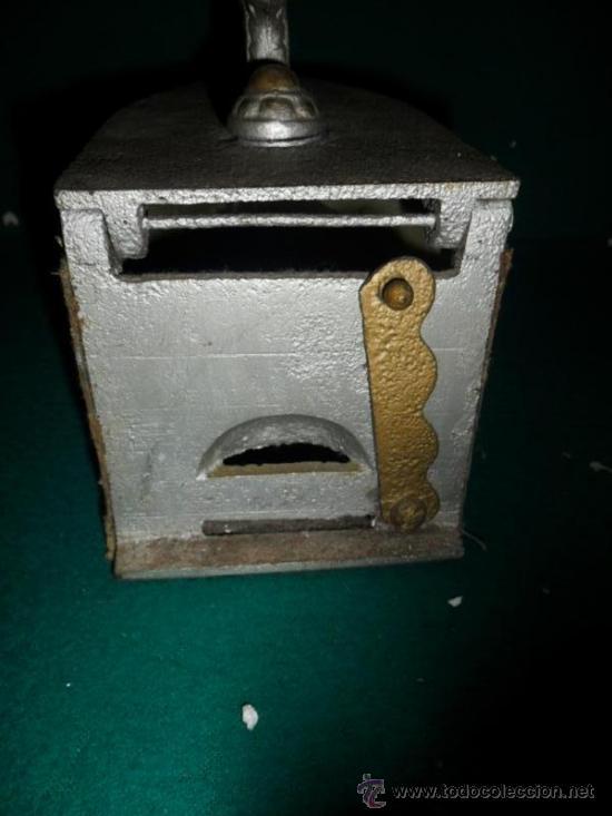 Antigüedades: plancha de carbon antigua - Foto 4 - 38292849