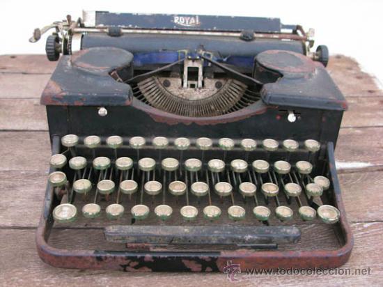MAQUINA DE ESCRIBIR DE LA CASA ROYAL, MUY ANTIGUA IDEAL COLECCIÓN. (Antigüedades - Técnicas - Máquinas de Escribir Antiguas - Royal)