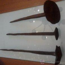 Antigüedades: CLAVOS 3. Lote 38353580