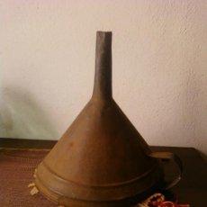Antigüedades: EMBUDO GRANDE. BODEGA. Lote 38389987
