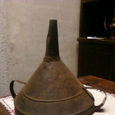 Antigüedades: EMBUDO GRANDE. BODEGA.DOS ASAS. Lote 38390003
