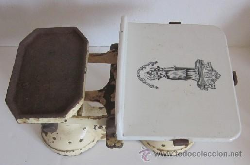 Antigüedades: ANTIGUA BALANZA INGLESA - Foto 2 - 38394692