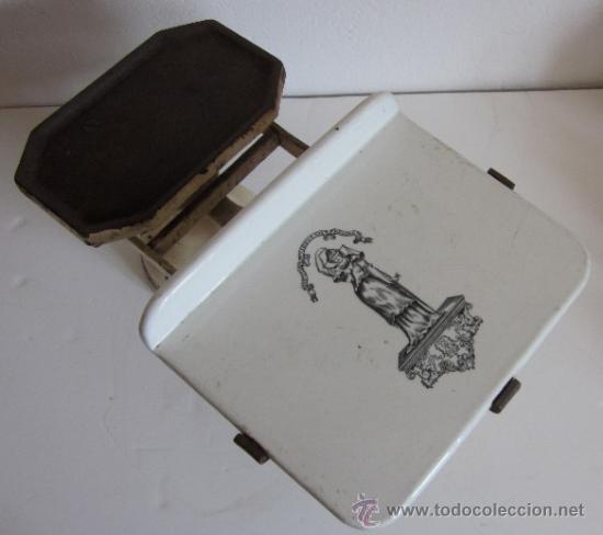 Antigüedades: ANTIGUA BALANZA INGLESA - Foto 4 - 38394692