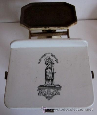 Antigüedades: ANTIGUA BALANZA INGLESA - Foto 5 - 38394692