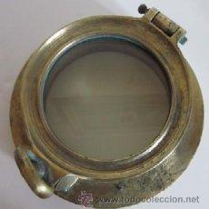 Antigüedades: ANTIGUO OJO DE BUEY DE BRONCE. Lote 38404309
