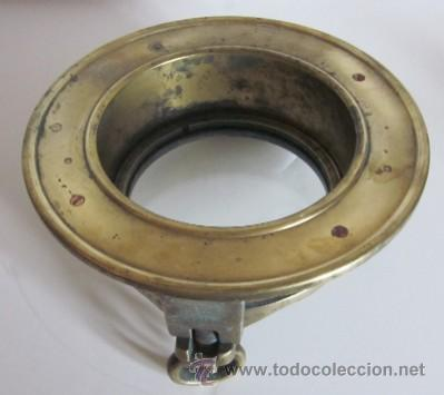 Antigüedades: ANTIGUO OJO DE BUEY DE BRONCE - Foto 3 - 38404309