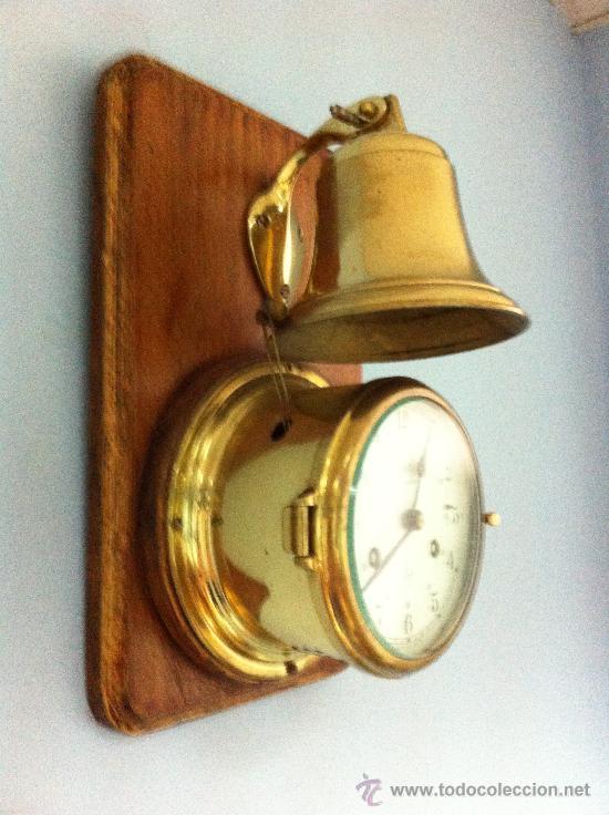 Reloj de barco schatz con campana raro 8 d as comprar - Antiguedades de barcos ...
