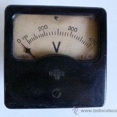 Antigüedades: ANTIGUO VOLTIMETRO. Lote 38574755
