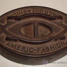 Antigüedades: PLANCHA ANTIGUA DE HIERRO . Lote 38590801