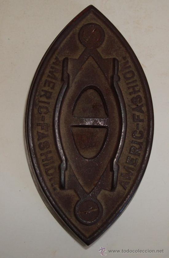 Antigüedades: PLANCHA ANTIGUA DE HIERRO - Foto 3 - 38590801