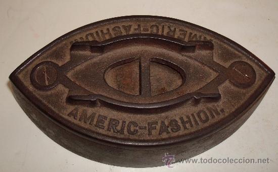 Antigüedades: PLANCHA ANTIGUA DE HIERRO - Foto 4 - 38590801