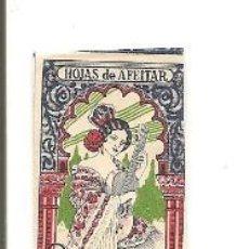 Antigüedades: HOJA DE AFEITAR SEVILLANA ACANALADA. Lote 38741154