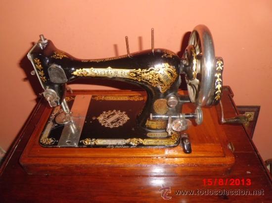 Maquina de coser singer antigua con canilla de - Vendido