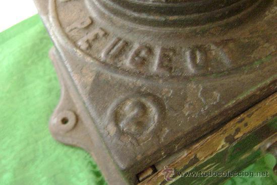 Antigüedades: MOLINO DE CAFE MARCA PEUGEAUT - Foto 3 - 22252300