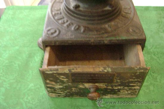 Antigüedades: MOLINO DE CAFE MARCA PEUGEAUT - Foto 6 - 22252300