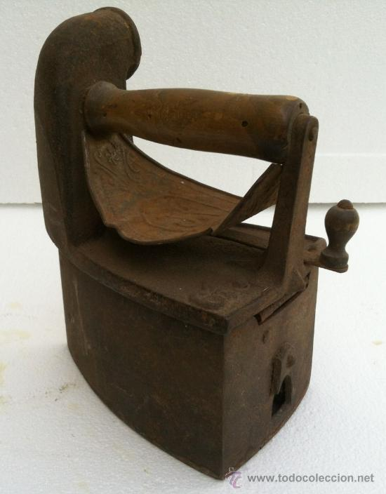 PLANCHA ANTIGUA CARBON (Antigüedades - Técnicas - Planchas Antiguas - Carbón)