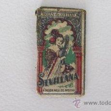 Antigüedades: HOJA DE AFEITAR SEVILLANA. Lote 38723231