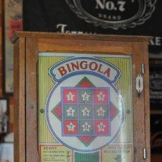 Antigüedades: BINGOLA ANTIGUA TRAGAPERRAS. Lote 38580167