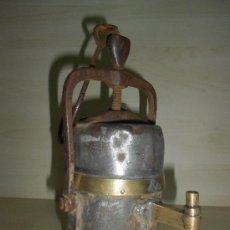 Antigüedades: LAMPARA MINERA . Lote 38754300