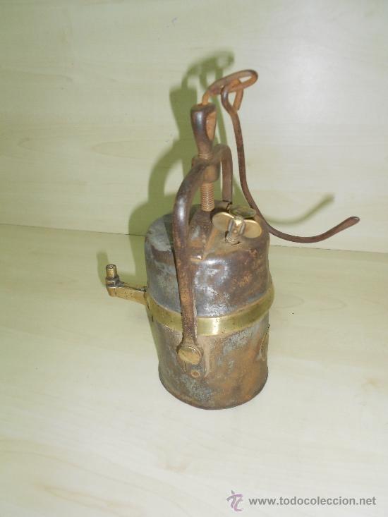 Antigüedades: LAMPARA MINERA - Foto 3 - 38754300