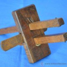Antigüedades: ANTIGUO GRAMIL DE CARPINTERO DE DOBLE MARCAJE.. Lote 38770929