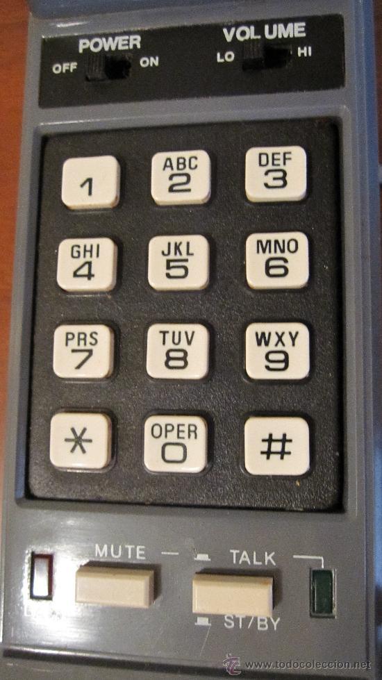 Teléfonos: UNO DE LOS PRIMEROS TELEFONOS INALAMBRICOS.INSTRUCCIONES .ANTENAS TELESCOPICAS - Foto 3 - 178642918