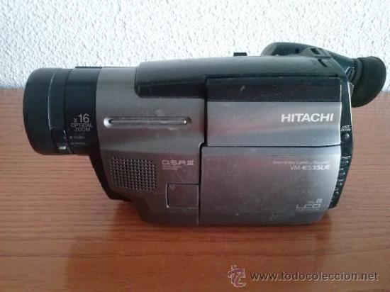 CAMARA DE VIDEO HITACHI VM-E535LE (Antigüedades - Técnicas - Aparatos de Cine Antiguo - Cámaras de Super 8 mm Antiguas)