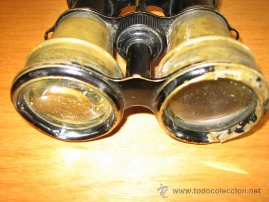 Antigüedades: Prismaticos antiguos. - Foto 3 - 38796215