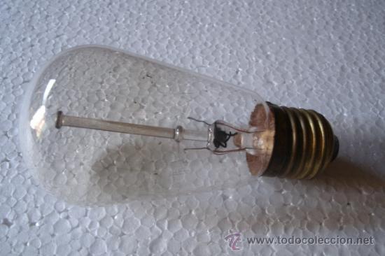 ANTIGUA BOMBILLA . ORIGINAL DE PRINCIPIOS DEL XX - MODELO MUY RARO - (Antigüedades - Técnicas - Herramientas Profesionales - Electricidad)