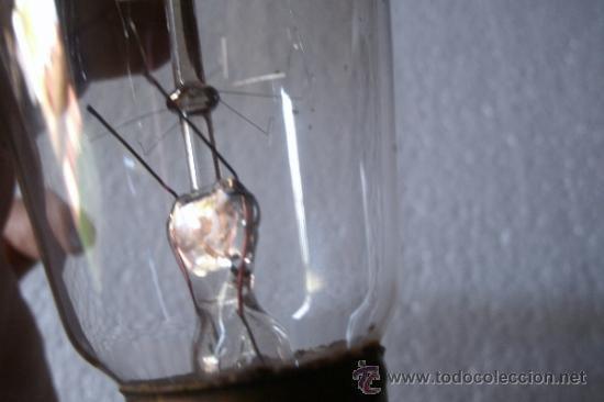 Antigüedades: ANTIGUA BOMBILLA . ORIGINAL DE PRINCIPIOS DEL XX - MODELO MUY RARO - - Foto 10 - 38968718