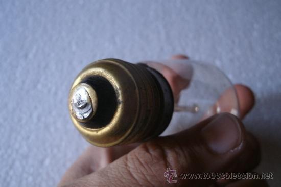 Antigüedades: ANTIGUA BOMBILLA . ORIGINAL DE PRINCIPIOS DEL XX - MODELO MUY RARO - - Foto 9 - 38968718