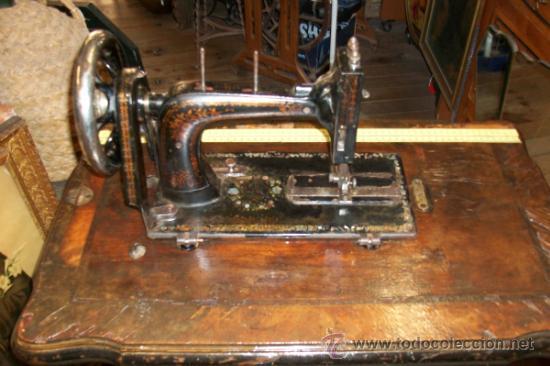 Antigüedades: ANTIGUA MAQUINA DE COSER WERTHEIM- ELECTRA - Foto 4 - 38855717