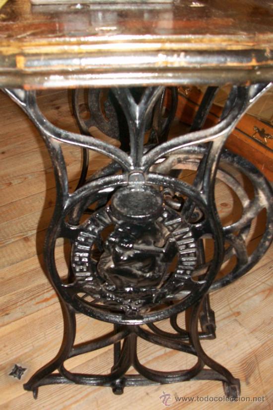 Antigüedades: ANTIGUA MAQUINA DE COSER WERTHEIM- ELECTRA - Foto 3 - 38855717