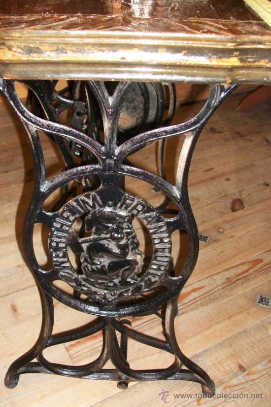 Antigüedades: ANTIGUA MAQUINA DE COSER WERTHEIM- ELECTRA - Foto 2 - 38855717