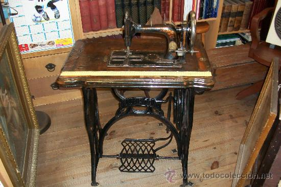ANTIGUA MAQUINA DE COSER WERTHEIM- ELECTRA (Antigüedades - Técnicas - Máquinas de Coser Antiguas - Wertheim )