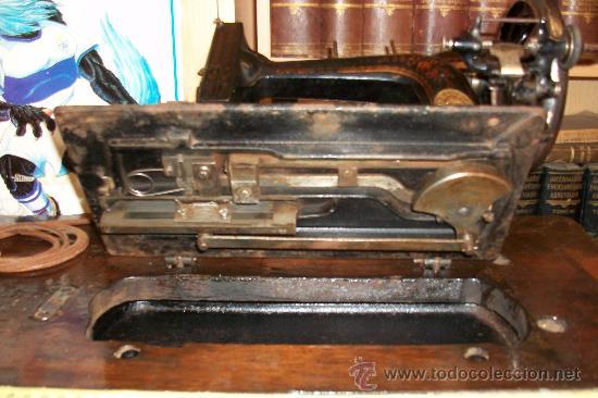 Antigüedades: ANTIGUA MAQUINA DE COSER WERTHEIM- ELECTRA - Foto 7 - 38855717