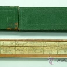 Antigüedades: REGLA DE CÁLCULO FABER CASTELL MADE IN GERMANY PLÁSTICO AÑOS 60 CON FUNDA. Lote 38857272
