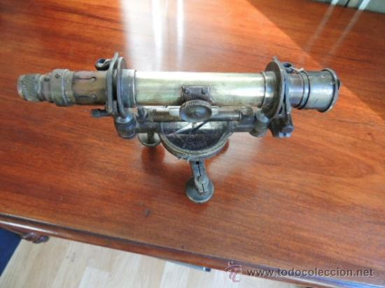 Antigüedades: ANTIGUO TEODOLITO DEL SIGLO XIX de TOPOGRAFIA - Foto 2 - 38887605