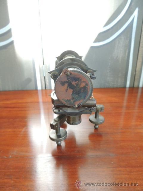 Antigüedades: ANTIGUO TEODOLITO DEL SIGLO XIX de TOPOGRAFIA - Foto 8 - 38887605